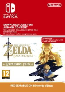 The Legend of Zelda Breath of the Wild Expansion Pass Switch (EU) clave barata para descarga