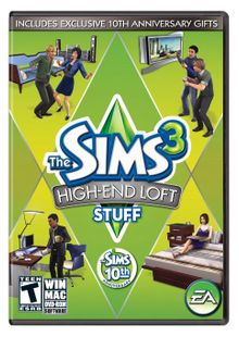 The Sims 3: High End Loft Stuff PC clé pas cher à télécharger