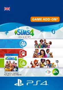 The Sims 4 Bundle - Cats & Dogs, Parenthood, Toddler Stuff PS4 cheap key to download