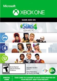 The Sims 4 - Extra Content Starter Bundle Xbox One billig Schlüssel zum Download