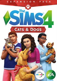 The Sims 4: Cats and Dogs Expansion PC/Mac clé pas cher à télécharger