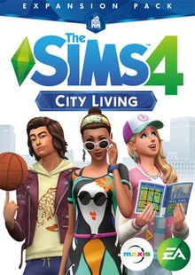 The Sims 4 City Living Expansion Pack PC clé pas cher à télécharger