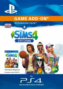 The Sims 4 City Living PS4 cheap key to download
