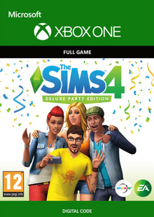 The Sims 4 Deluxe Party Edition Xbox One cheap key to download