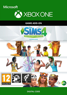 The Sims 4 - Deluxe Party Upgrade Xbox One billig Schlüssel zum Download