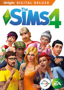 The Sims 4 Deluxe Edition PC cheap key to download