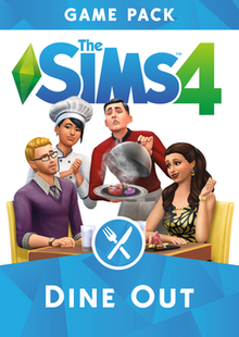 The Sims 4 Dine Out Expansion PC clé pas cher à télécharger