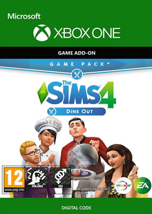 The Sims 4 - Dine Out Game Pack Xbox One cheap key to download