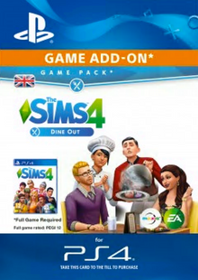 The Sims 4 - Dine Out Game Pack PS4 cheap key to download