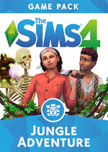 The Sims 4 Jungle Adventure Game Pack PC clé pas cher à télécharger