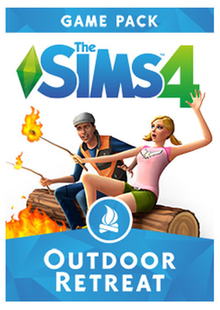 The Sims 4: Outdoor Retreat PC clé pas cher à télécharger