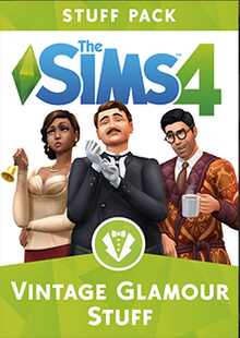 The Sims 4 - Vintage Glamour Stuff PC cheap key to download