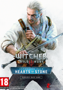 The Witcher 3 Wild Hunt - Hearts of Stone PC clé pas cher à télécharger