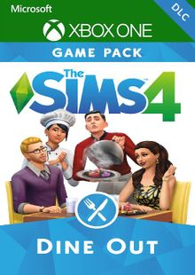 The Sims 4 - Dine out Xbox One (UK) cheap key to download
