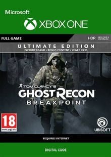 Tom Clancy's Ghost Recon Breakpoint: Ultimate Edition Xbox One cheap key to download