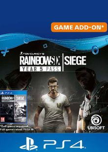Tom Clancy's Rainbow Six Siege - Year 5 Pass PS4 (UK) cheap key to download