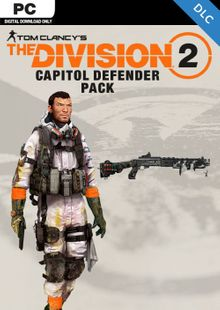 Tom Clancys The Division 2 PC - Capitol Defender Pack DLC cheap key to download