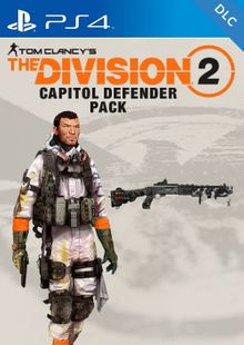 Tom Clancys The Division 2 PS4 - Capitol Defender Pack DLC (EU) cheap key to download
