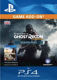 Tom Clancys Ghost Recon Wildlands Season Pass PS4 clé pas cher à télécharger