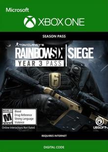 Tom Clancys Rainbow Six Siege: Year 3 Pass Xbox One cheap key to download