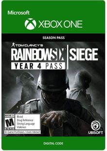 Tom Clancys Rainbow Six Siege - Year 4 Pass Xbox One cheap key to download
