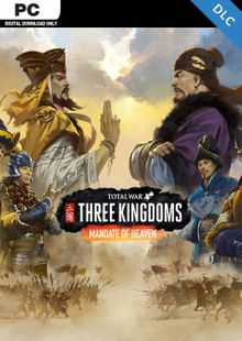 Total War Three Kingdoms PC - Mandate of Heaven DLC cheap key to download