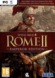 Total War Rome II 2 - Emperors Edition PC cheap key to download
