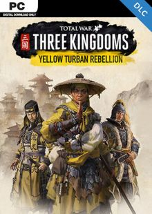Total War Three Kingdoms PC - The Yellow Turban Rebellion DLC clave barata para descarga
