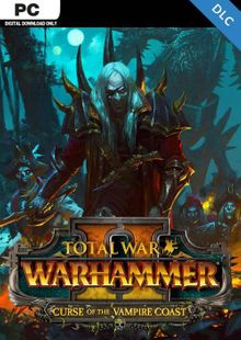 Total War Warhammer II 2 PC - Curse of the Vampire Coast DLC (WW) cheap key to download