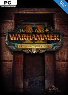 Total War Warhammer II 2 PC - Rise of the Tomb Kings DLC (WW) cheap key to download