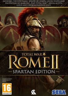 Total War: Rome II 2 – Spartan Edition PC cheap key to download