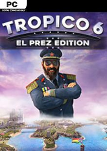 Tropico 6 El Prez Edition inc BETA PC (EU) billig Schlüssel zum Download