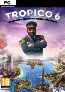 Tropico 6 inc BETA PC (EU) billig Schlüssel zum Download