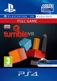 Tumble VR PS4 cheap key to download