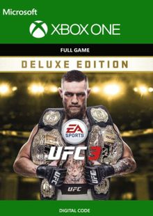 EA Sports UFC 3 - Deluxe Edition Xbox One (UK) cheap key to download