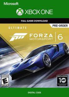 Forza Motorsport 6 Ultimate Edition Xbox One - Digital Code cheap key to download