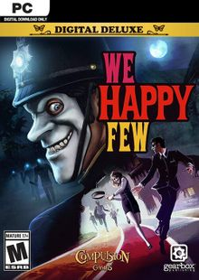 We Happy Few Deluxe Edition PC billig Schlüssel zum Download