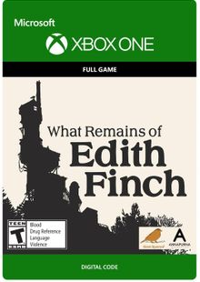 What Remains of Edith Finch Xbox One cheap key to download