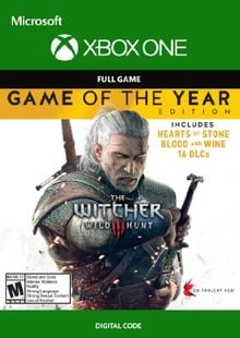 The Witcher 3 Wild Hunt - Game of the Year Edition Xbox One (UK) cheap key to download