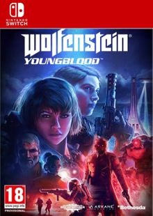 Wolfenstein: Youngblood Switch clé pas cher à télécharger