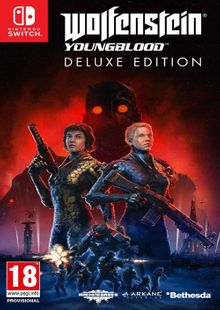 Wolfenstein: Youngblood - Deluxe Edition Switch clé pas cher à télécharger