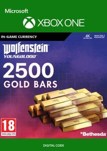 Wolfenstein: Youngblood - 2500 Gold Bars Xbox One billig Schlüssel zum Download