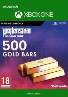 Wolfenstein: Youngblood - 500 Gold Bars Xbox One billig Schlüssel zum Download