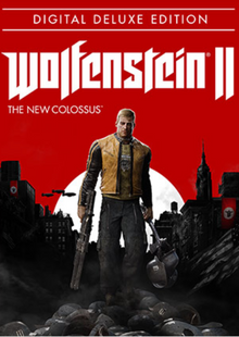 Wolfenstein II 2 The New Colossus Deluxe Edition PC cheap key to download
