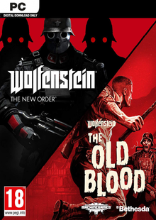 Wolfenstein The New Order and The Old Blood Double Pack PC clé pas cher à télécharger