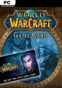 World of Warcraft 30 Day Pre-Paid Game Card PC/Mac billig Schlüssel zum Download