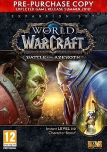 World of Warcraft (WoW) Battle for Azeroth Pre-Purchase PC (EU) clé pas cher à télécharger