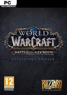 World of Warcraft Battle for Azeroth - Collector's Edition PC (EU) billig Schlüssel zum Download