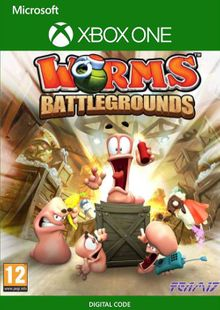 Worms Battlegrounds Xbox One (UK) cheap key to download