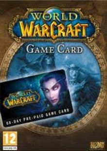 World of Warcraft 60 Day Pre-paid Game Card PC/Mac clé pas cher à télécharger